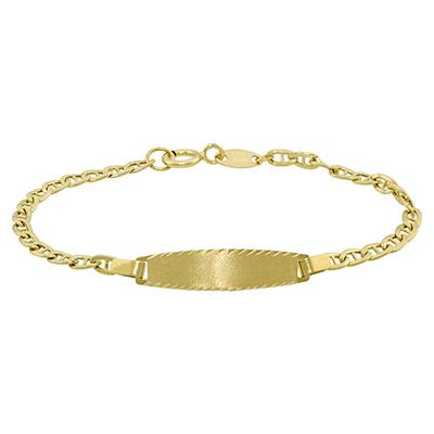 02e571adff7b 2912701009 - Pulsera en oro amarillo de 18 Kilates satinado
