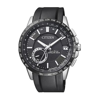 Reloj para Hombre, tablero redondo, negro, puntos, analogo, pulso silicona negro, calendario