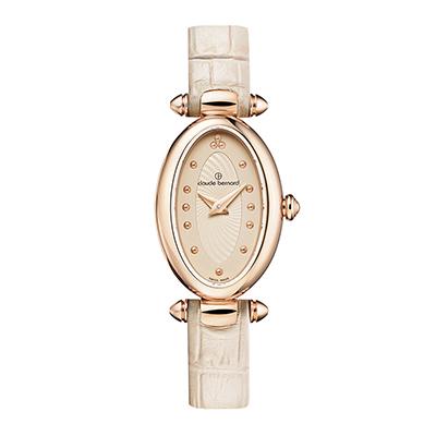 Reloj para Dama, tablero redondo, rosa, puntos, analogo, pulso cuero rosa