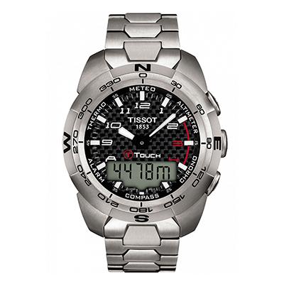 Reloj para Hombre, tablero redondo, negro, index + arabigo, digital, pulso metalico metalico, cronografo